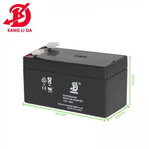 What is the internal structure of the gel battery?