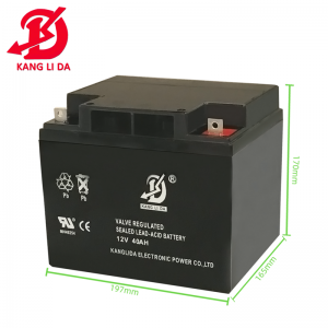 How to maintain UPS battery after replacement?