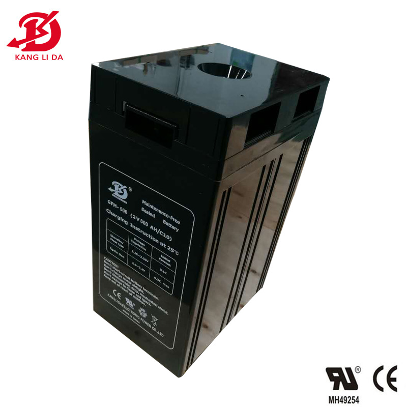 Kanglida 2v 500ah deep cycle battery for home solar system