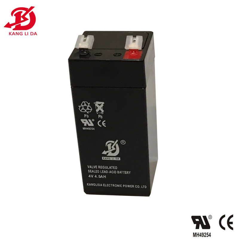 4v 4.5ah rechargeable sealed lead acid battery