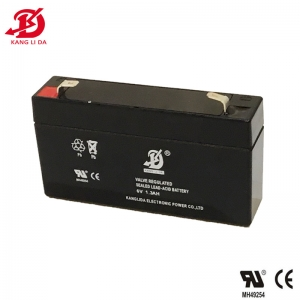 6v 1.3ah lead acid battery for electric scales