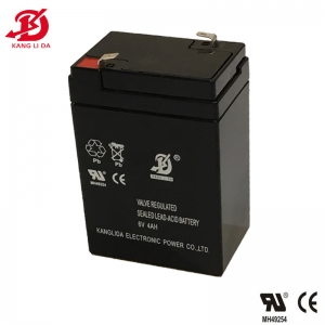 6v 4ah sealed lead acid battery for electric scales
