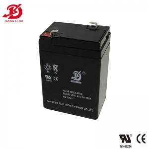 Kanglida 6v 5ah lead acid battery for electric scales