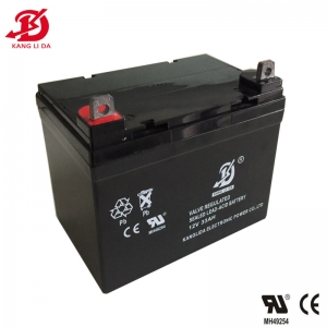 12v 33ah rechargeable lead acid battery for UPS