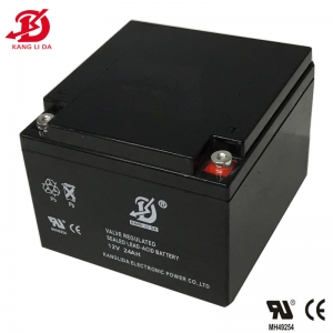 12v 24ah rechargeable lead acid battery for UPS