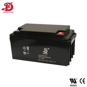 Kanglida 12V 65AH rechargeable lead acid battery