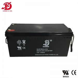 Kanglida 12v 200ah deep cycle gel battery