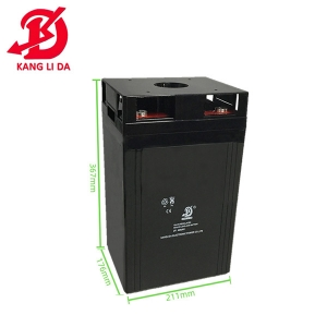 rechargeable 2v 400ah home solar battery